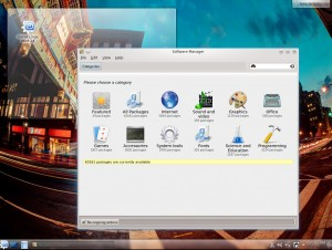 Linux Mint 14 KDE: Software-Manager