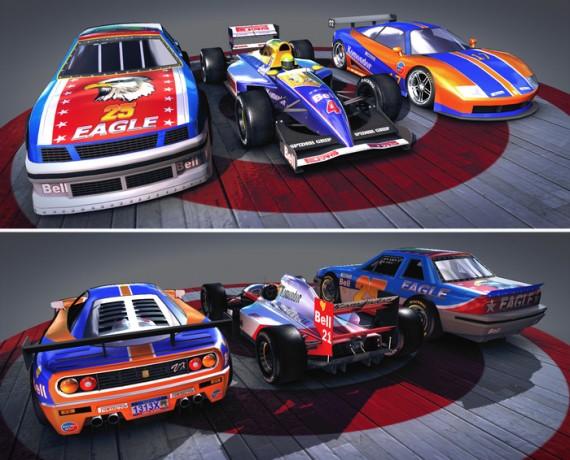 Die drei verschiendenen Auto-Typen (Quelle: kickstarter.com)