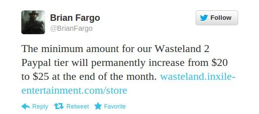 Wasteland 2 bald mit Preiserhöhung