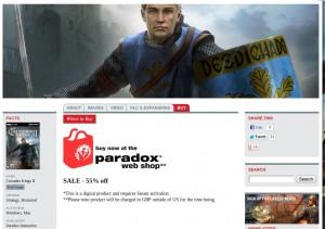 Crusader Kings II: 55 Prozent Rabatt!