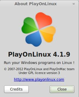 PlayOnLinux 4.1.9