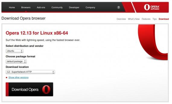Download Opera 12.13