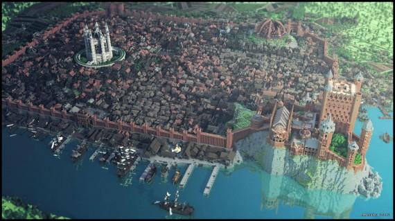 King's Landing ist in Minecraft gelandet!