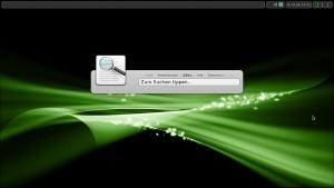 Manjaro Linux 0.8.3 Openbox: Synapse