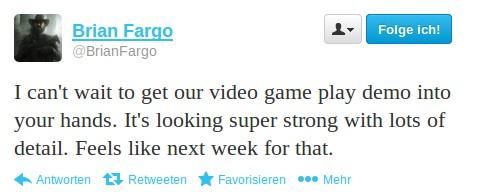Brian Fargo: Gameplay-Video nächste Woche
