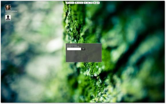 MDM Greeter mit HTML / WebKit realisiert