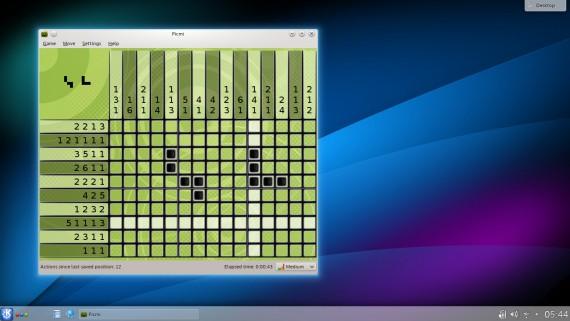 KDE Games: Picmi (Quelle: kde.org)