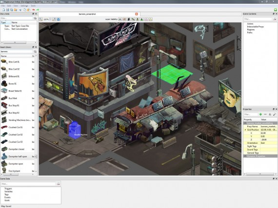 Shadowrun: Editor (Quelle: harebrained-schemes.com)