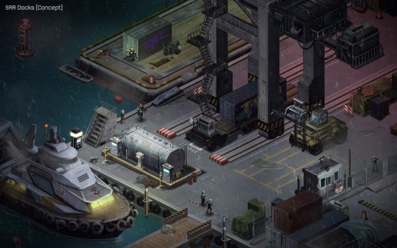 Shadowrun: Docks (Quelle: harebrained-schemes.com)
