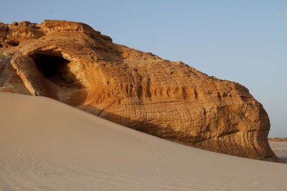 Jebel Makharum - Schlafender Dinosaurier