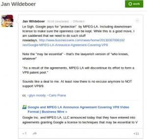 Jan Wildboer ist traurig ...