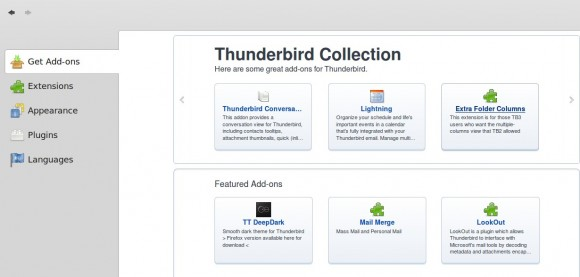 Thunderbird Add-On-Manager