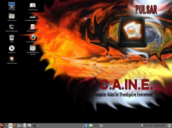 Caine 4.0: Desktop