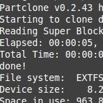 SD-Karte des Raspberry Pi sichern: dd oder partclone?