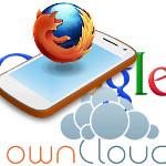 Google, ownCloud, Firefox OS Teaser 150x150
