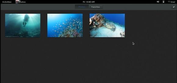 GNOME 3.8: Photos