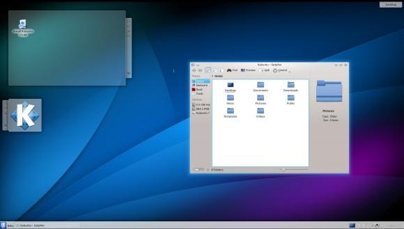 Kubuntu 13.04: Dolphin