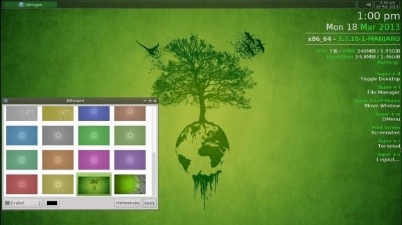 Manjaro Openbox-Lite 0.8.4: Nitrogen