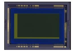 Canons neuer Sensor (Quelle: canon.com)