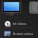 Mittels KDE- und Plasma-Technologie erstellt: Plasma Media Center 1.0.0