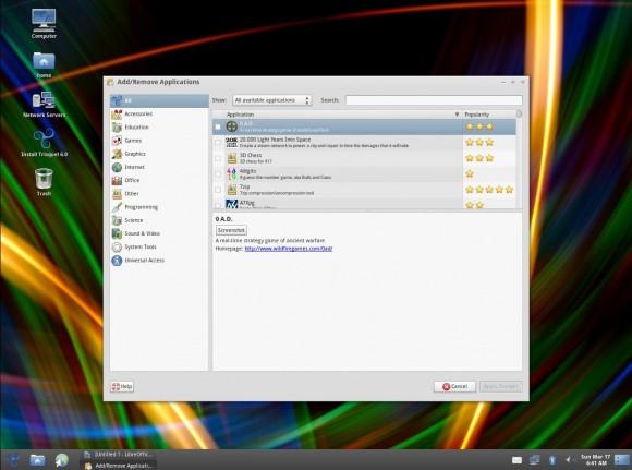 Trisquel 6: Software installieren und entfernen