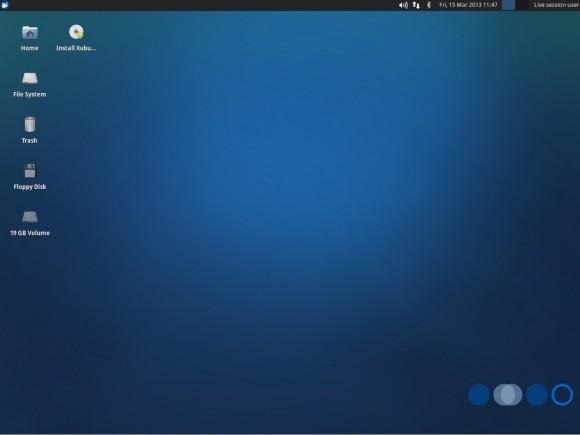 Xubuntu 13.04: Desktop