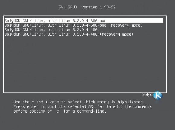 SolydK: 2 Kernel in der 32-Bit-Variante