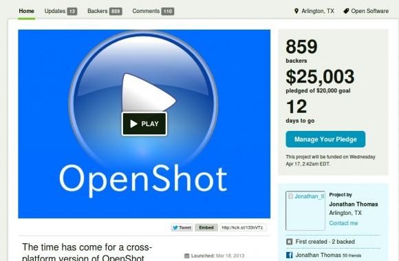 OpenSot: Erstes Stretch Goal erreicht