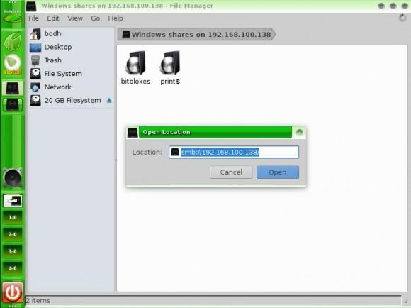 Bodhi Linux 2.3.0: Thunar
