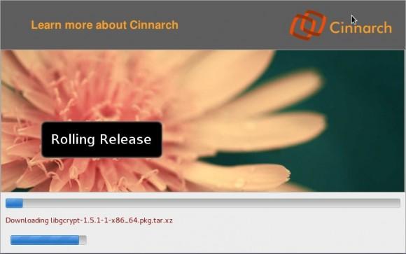 Cinnarch 2013.04.05: Installation