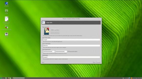 Manjaro Linux 0.8.5 Cinnamon: Installer