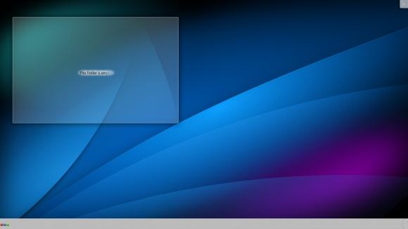 KDE-Wüste nach der Installation