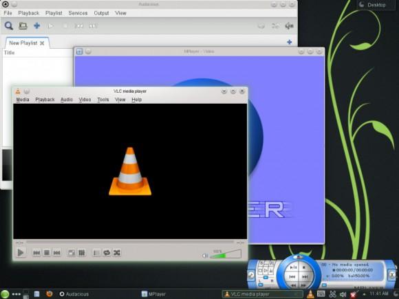 "openSUSE 12.3 ""Edu Li-f-e"": VLC (Quelle: en.opensuse.org)"