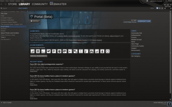 Portal Beta für Linux
