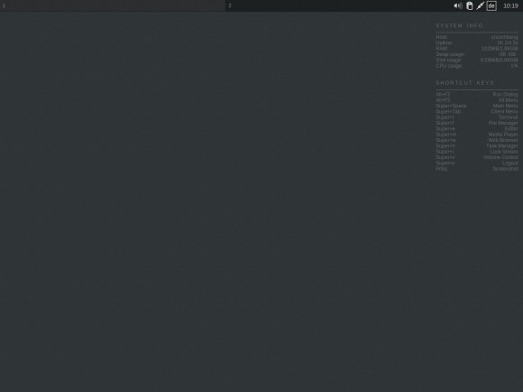 "CrunchBang Linux 11 ""Waldorf"": Desktop"