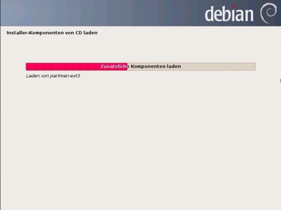 Debian 7 Wheezy: Komponenten laden