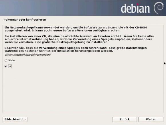 Debian 7 Wheezy: Paket-Manager konfigurieren