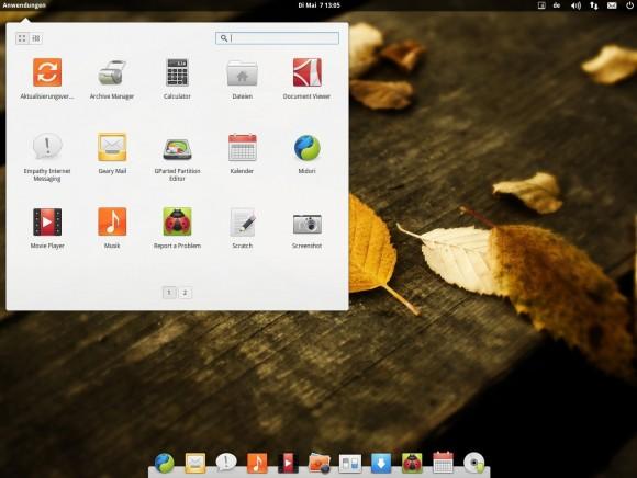 elementary OS Luna: Anwendungen