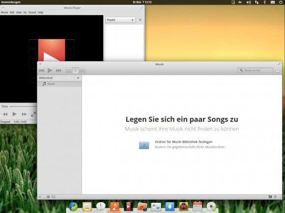 elementary OS Luna: Keine Musik vorhanden