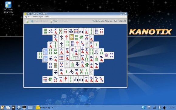 Kanotix LinuxTag 2013 Dragonfire: Mahjongg