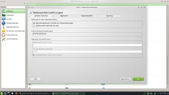 openSUSE 12.3: Hier umstellen!