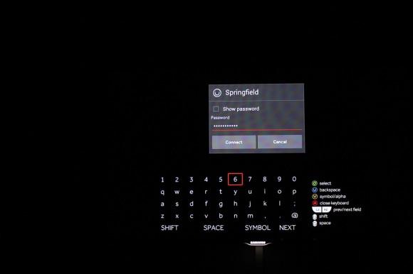 OUYA: Wi-Fi Passwort