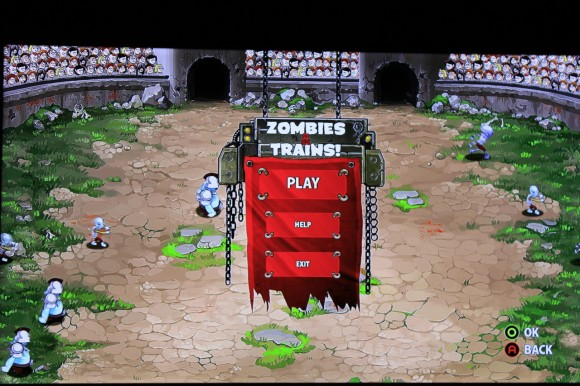 OUYA: Zombies & Trains