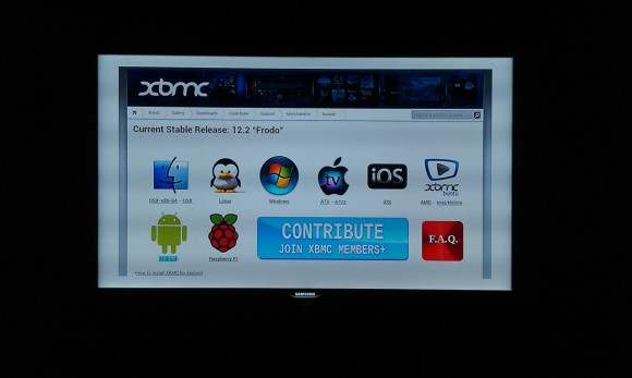 OUYA: Browser - XBMC