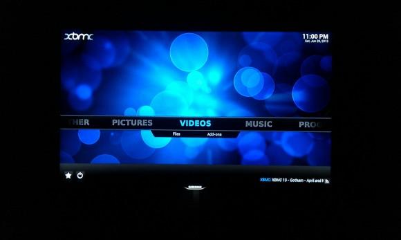 OUYA: XBMC gestartet