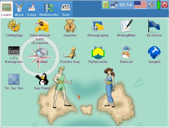 Doudou Linux 2.0: Desktop