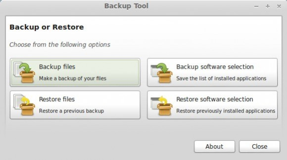 Linux Mint: Backup-Tool