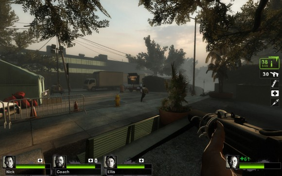 Left 4 Dead 2: Sprintende Zombies