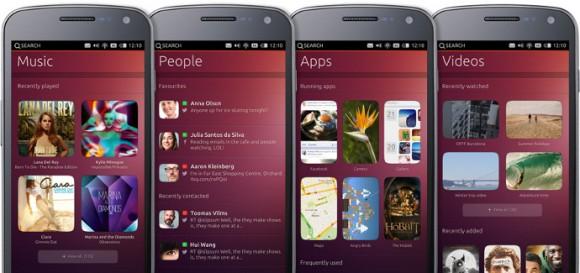 Ubuntu Phone: Scopes (Quelle: ubuntu.com)