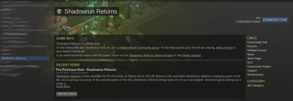 Shadowrun Returns: Bei den Linux-Spielen mit aufgeführt